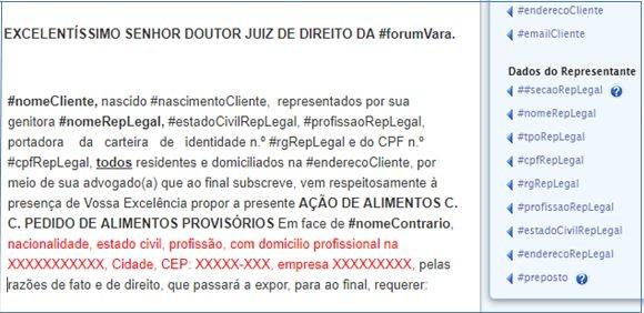 , Novidades GOJUR – Representante Legal